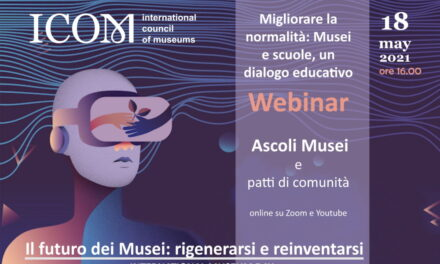 Un webinar per la Giornata Internazionale dei Musei