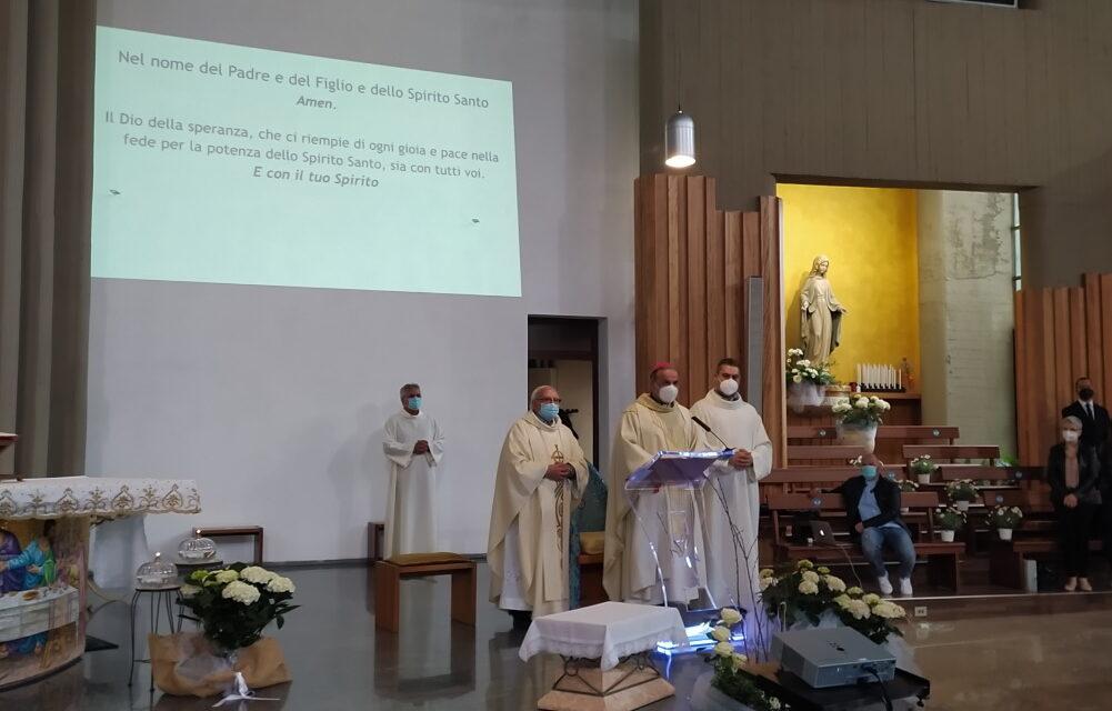 Pagliare: la novena di pentecoste con Mons. Pompili
