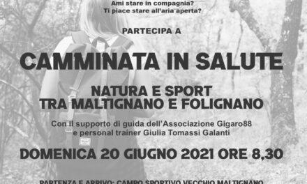 Camminata in salute tra natura e sport