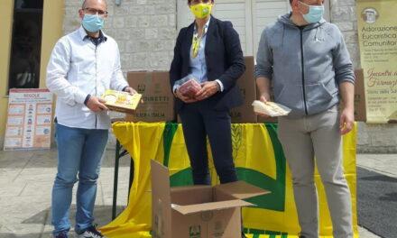 La generosità di Coldiretti arriva a Piane di Morro