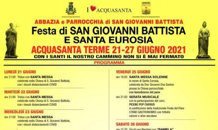 San Giovanni Battista: Acquasanta Terme in festa