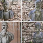 Terminato il restauro dei busti del giardino dell'Arengo