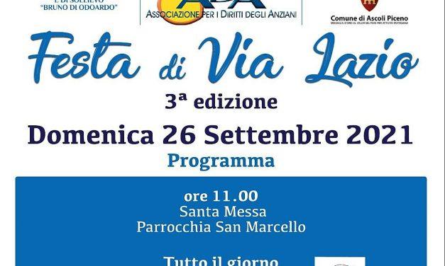 Centro ricreativo in festa: rivive Via Lazio!